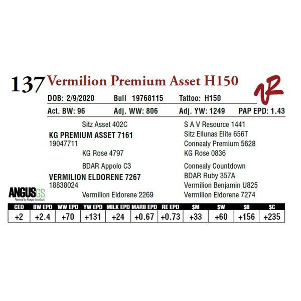 VERMILION PREMIUM ASSET H150