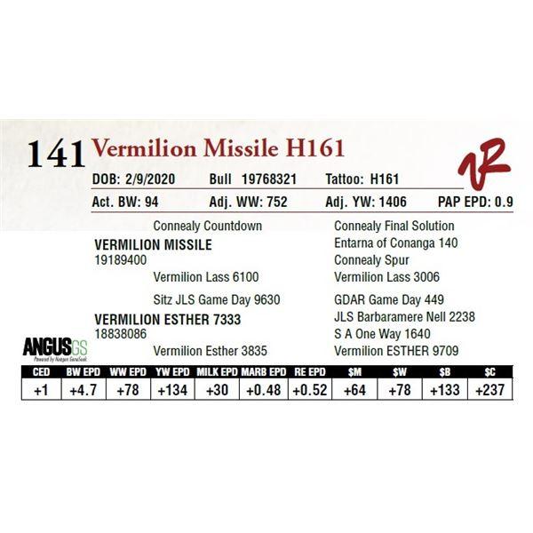 VERMILION MISSILE H161