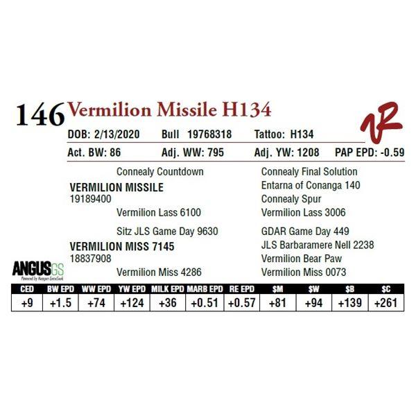 VERMILION MISSILE H134