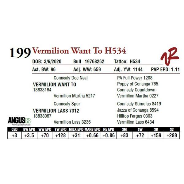 VERMILION WANT TO H534