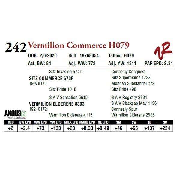 VERMILION COMMERCE H079