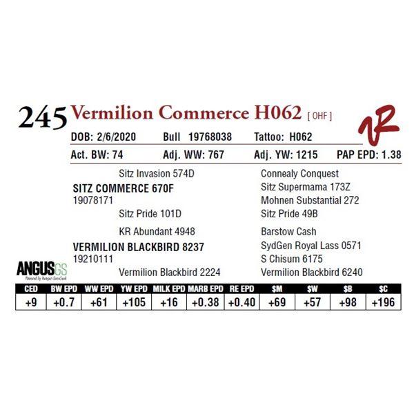 VERMILION COMMERCE H062