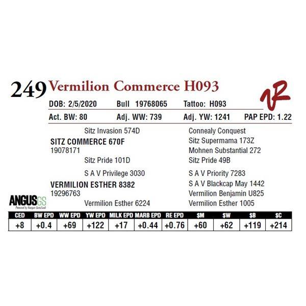 VERMILION COMMERCE H093