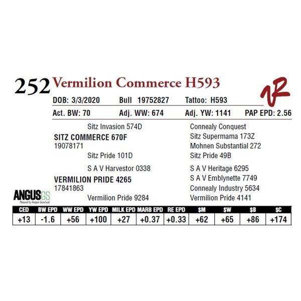 VERMILION COMMERCE H593