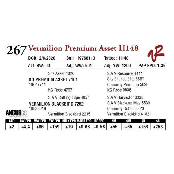 VERMILION PREMIUM ASSET H148