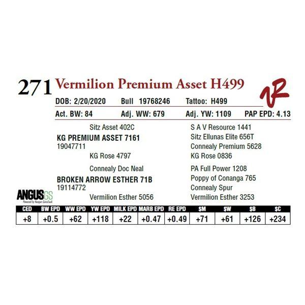 VERMILION PREMIUM ASSET H499
