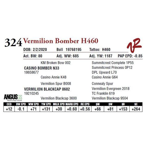 VERMILION BOMBER H460