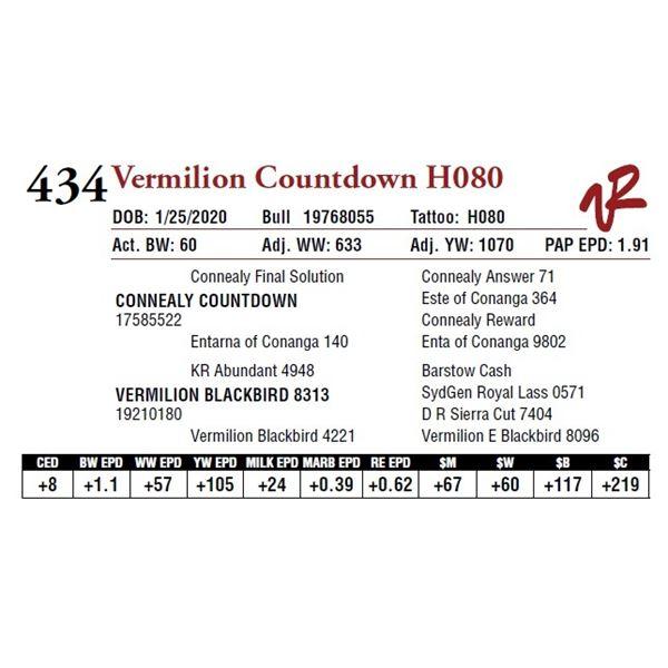 VERMILION COUNTDOWN H080
