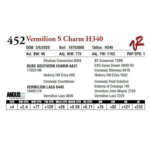 VERMILION S CHARM H340