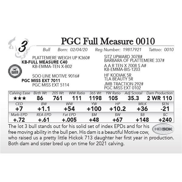 PGC Full Measure 0010