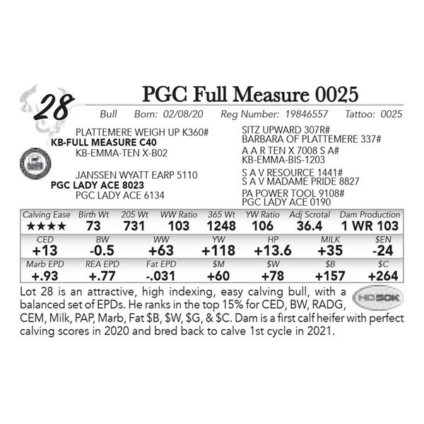 PGC Full Measure 0025