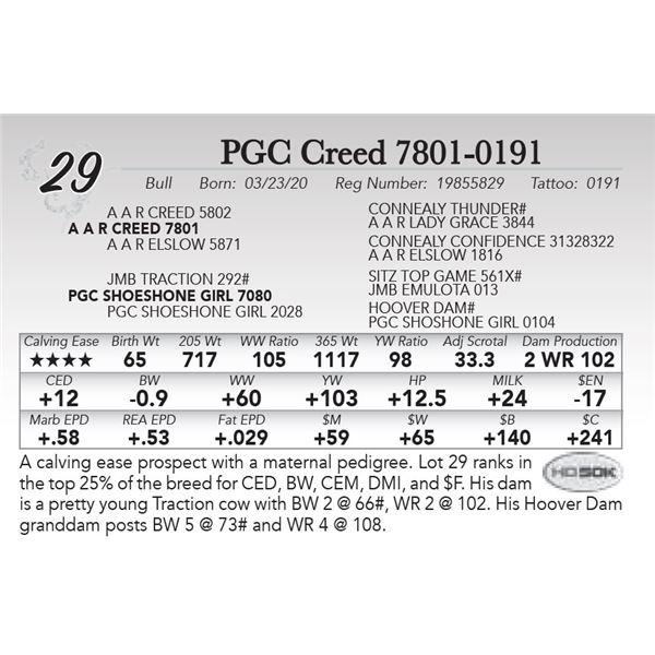 PGC Creed 7801-0191
