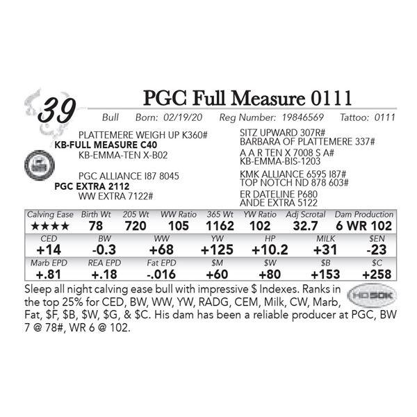 PGC Full Measure 0111