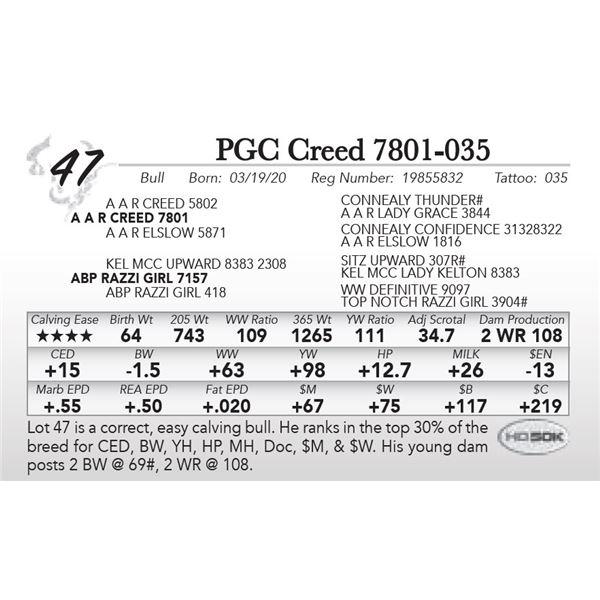 PGC Creed 7801-035