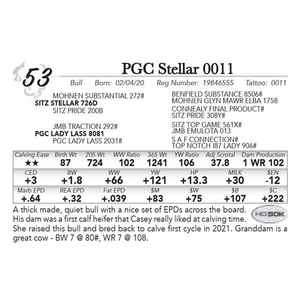 PGC Stellar 0011
