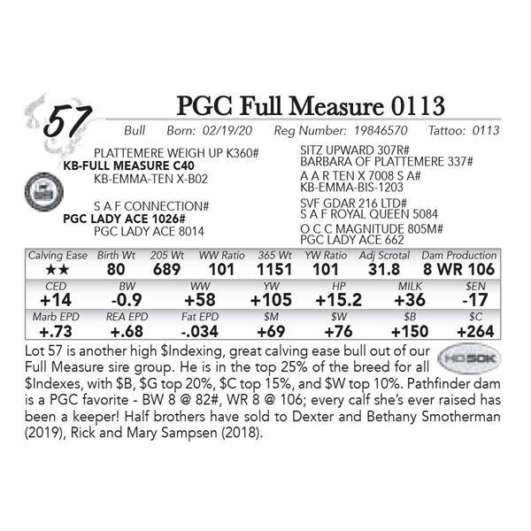 PGC Full Measure 0113