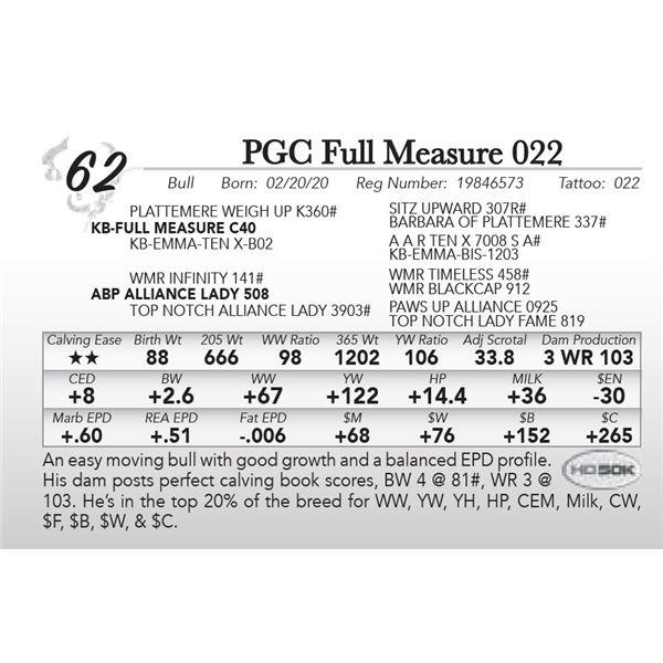 PGC Full Measure 022
