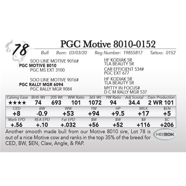 PGC Motive 8010-0152