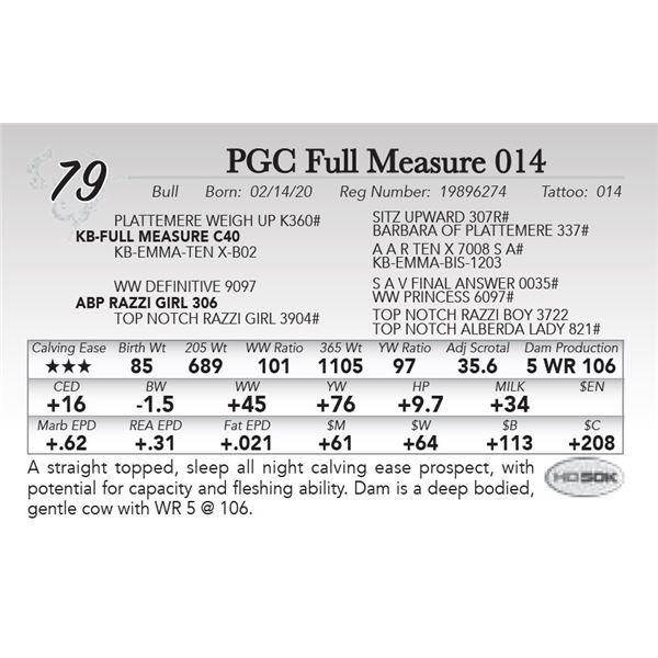 PGC Full Measure 014