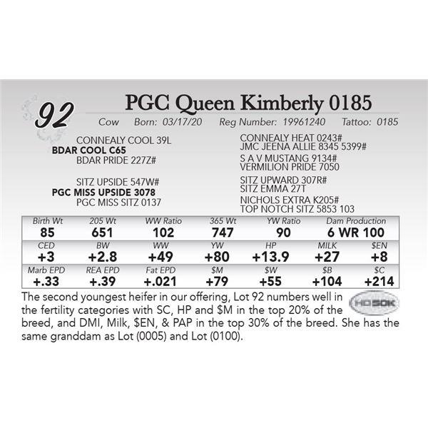 PGC Queen Kimberly 0185