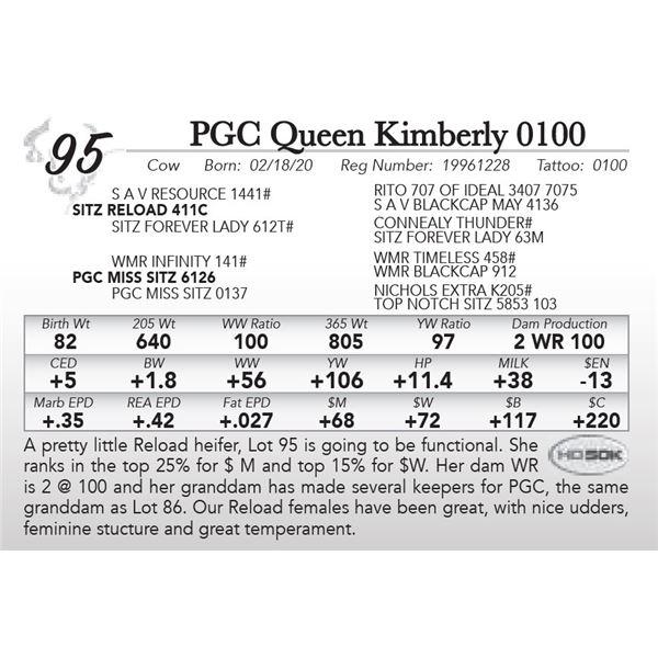 PGC Queen Kimberly 0100