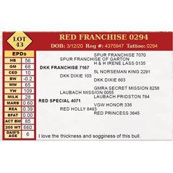 RED FRANCHISE 0294
