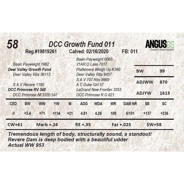 DCC Growth Fund 011
