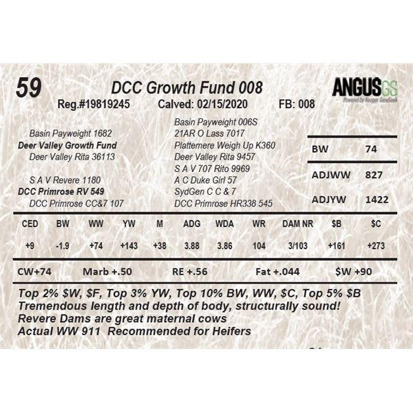 DCC Growth Fund 008