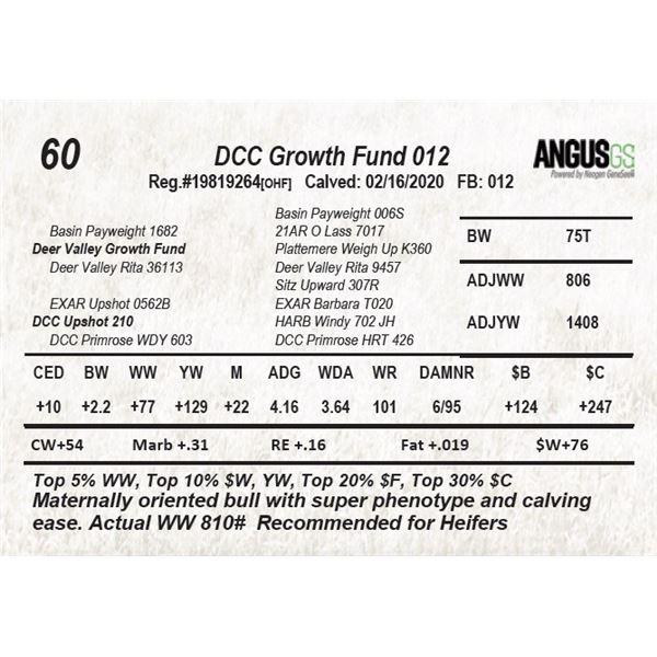 DCC Growth Fund 012