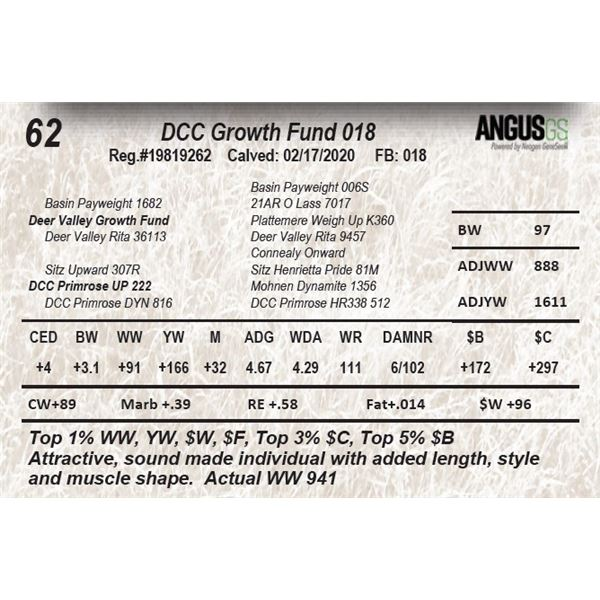 DCC Growth Fund 018
