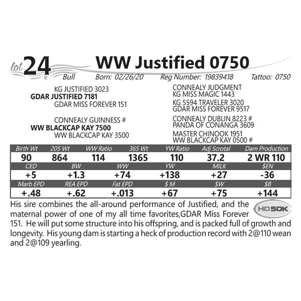 WW Justified 0750