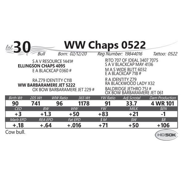 WW Chaps 0522