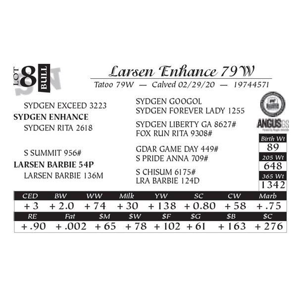 Larsen Enhance 79W
