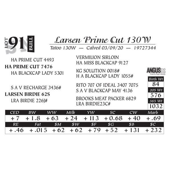 Larsen Prime Cut 130W