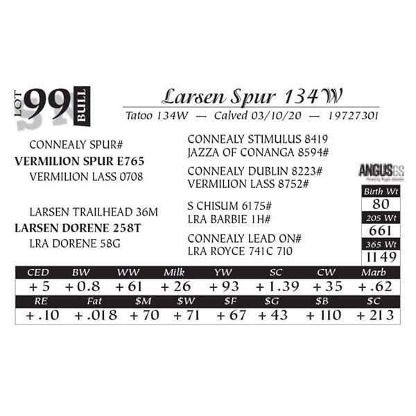 Larsen Spur 134W