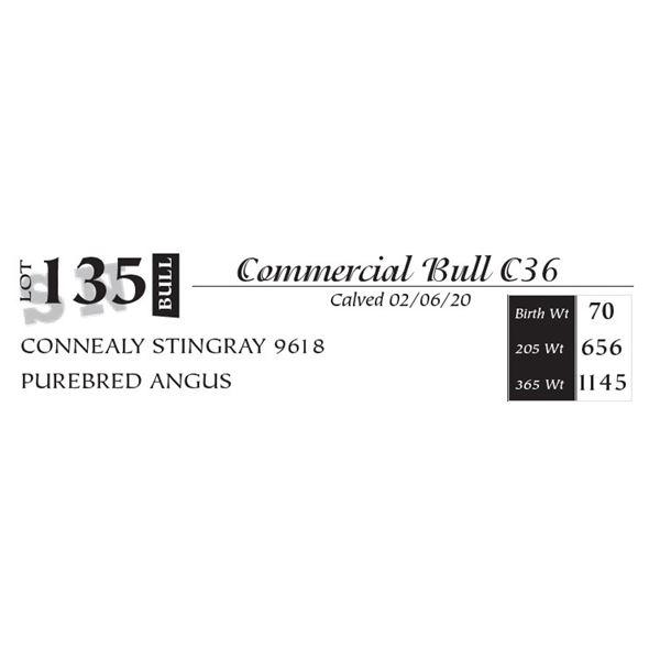 Commercial Bull C36