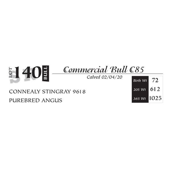Commercial Bull C85