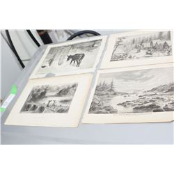 MID 1800s CANADIAN PRINTS
