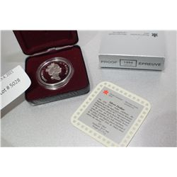 1994 CANADA PROOF SILVER DOLLAR STERLING