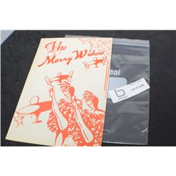 MERRY WIDOW UNIVERSITY OF SASKATCHEWAN 1949 PLAY BOOK
