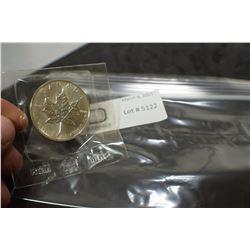 1 TROY OZ. FINE STERLING SILVER $5 DOLLAR CANADA COIN