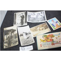 PHOTOGRAPHS AND POSTCARDS