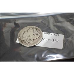 USA 1898 SILVER DOLLAR