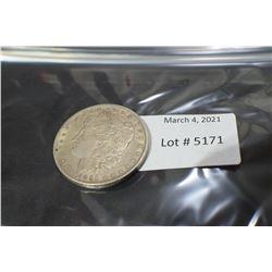 USA 1891 SILVER DOLLAR