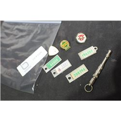 DOG WHISTLE , WAR AMP TAGS ETC