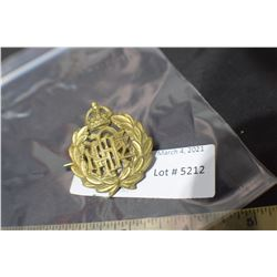 BRITISH REGIMENT BADGE