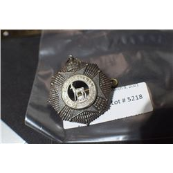 SOUTH SASKATCHEWAN REGIMENT CAP BADGE