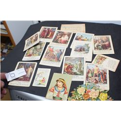 1905 AND LATER BIBLE CARDS