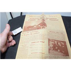 1967 MEXABITION REGINA NEWSPAPER AGRIBITION