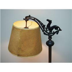 VINTAGE FLOOR STYLE LAMP (WORKING)